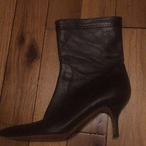 Banana Republic brown leather boot women's size 10